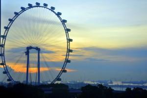 El Singapore Flyer. Autor Eustaquio Santimano de Flickr.