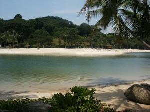 Playas de Sentosa. Auor bollinde Flickr.