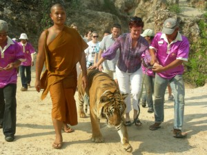 En el Templo de los Tigres. Autor Doug Beckers de Flickr.