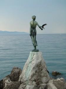 Estatua de Madonna. Autor Rafa http://www.micamara.es de Flickr.