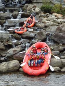 Anuncio en forma de Rafting. Autor scmikeburton de Flickr.