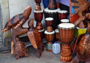 Productos artesanos en el Straw Market. Autor Jemingway de Flickr.