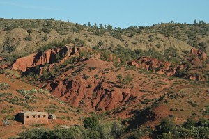 Pueblo Bereber en las Montañas Atlas. Autor frankdouwes de Flickr.