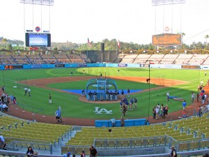 Dodgers Stadium. Autor Mat McGee de Flickr.