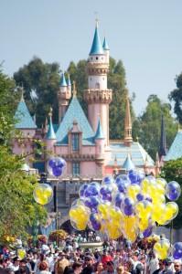 El Castillo de Disneyland. Autor Denise Cross de Flickr.