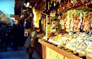 Mercado navideño. Autor Karlina - Carla Sedini de Flickr.