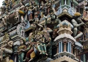 Templo hindu. Autor Mal B de Flickr.