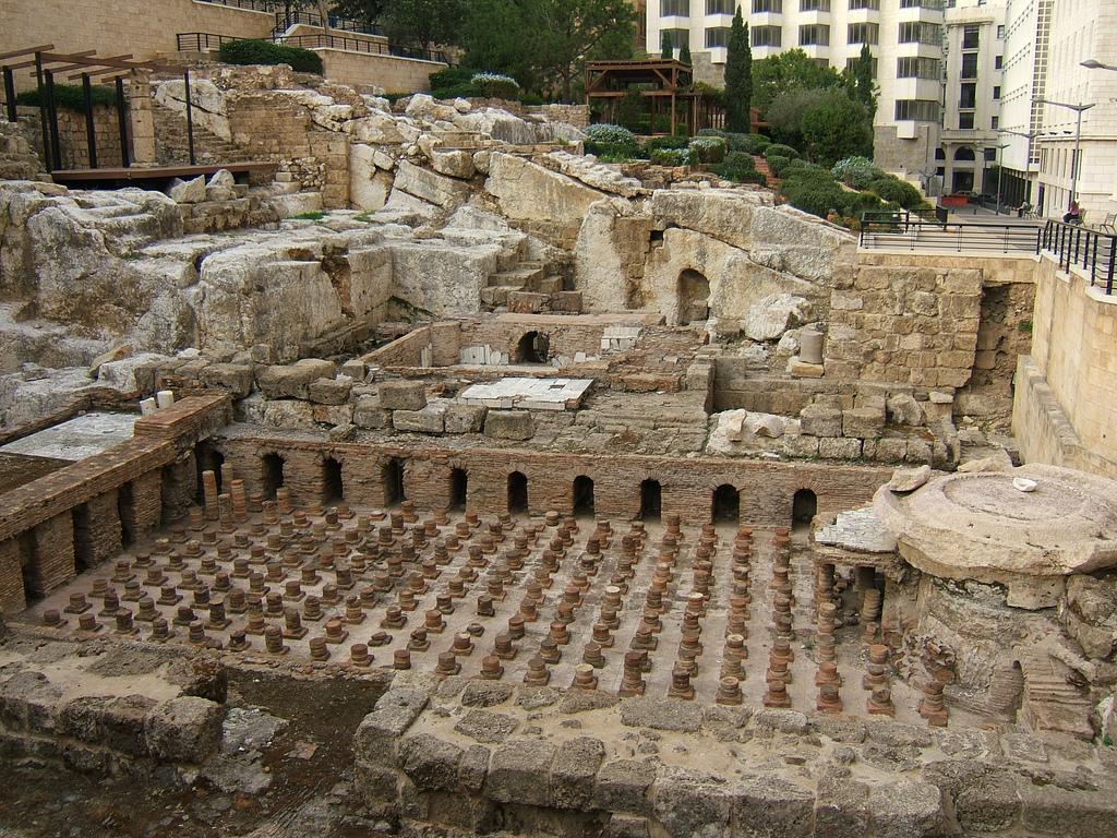 Baños Romanos Luisiana: – Beirut, iglesias, mezquitas, baños romanos y cuevas con ríos